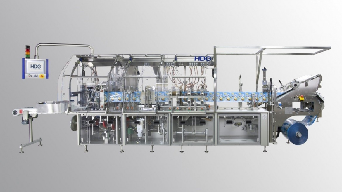 Total Pack breidt machine park uit met state of the art horizontale HDG RB-200 doypack installatie